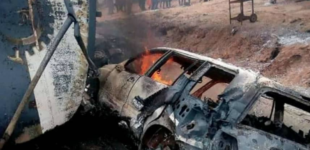 25 killed, vehicles burnt as petrol tanker explodes in Kogi (updated)