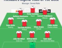 Mikel, Ndidi, Osimhen… TheCable's team of the week