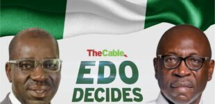 LIVE: Voting ongoing in Edo governorship election