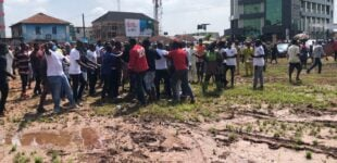 Violence breaks out as Obaseki arrives polling unit
