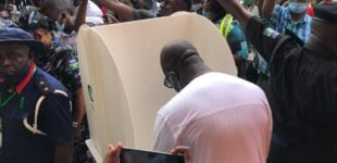 Edo guber: Obaseki, Ize-Iyamu cast their votes