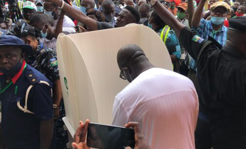 Edo guber: Obaseki, Ize-Iyamu cast their votes