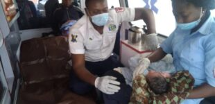 Homeless woman delivered of baby under Ajah bridge