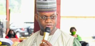 'God forbid' — Yahaya Bello rejects COVID-19 vaccine, says it is meant to kill