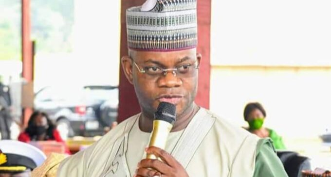 I will leave behind massive infrastructure, says Yahaya Bello