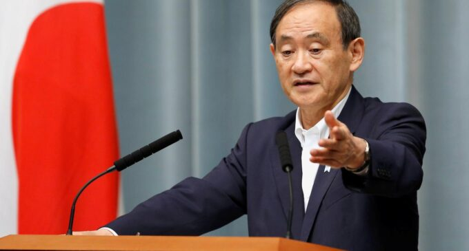 Yoshihide Suga replaces Abe, becomes Japan's 99th prime minister