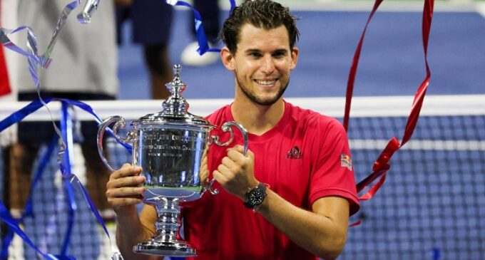 Dominic Thiem wins first US Open title