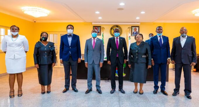 #EndSARS: Sanwo-Olu swears in judicial panel as hearing on police brutality begins