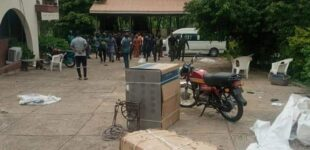 Motorcycles, freezers carted away as 'hoodlums' invade senator's house in Oyo