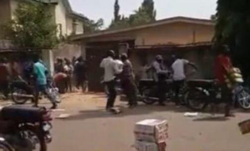 Residents loot COVID-19 palliative warehouse in Kaduna