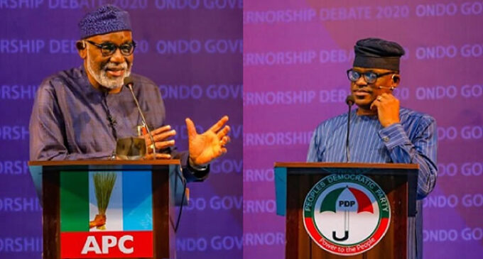 Tribunal fixes April 23 for verdict on Jegede's petition against Akeredolu's reelection