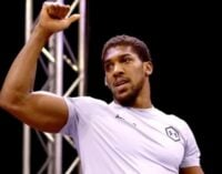 EXTRA: I thought #EndSARS was about a virus, says Anthony Joshua