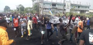 Police station on fire in Benin as 'hoodlums' converge on another prison