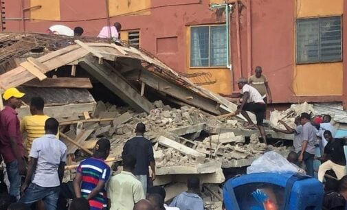 Four dead as uncompleted building collapses in Lagos (updated)
