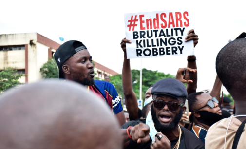#EndSARS as hope in the future