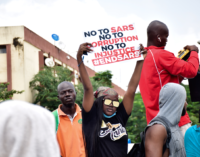 #EndSARS protest: The cry of a beaten child