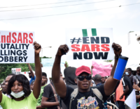 TRENDING: #EndSARS tops Twitter trends as activists call for second wave of protests