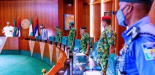 National security council meets Buhari in Abuja