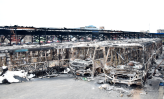 Buhari: After buses were burnt during #EndSARS, I told Sanwo-Olu to tell Lagosians to walk