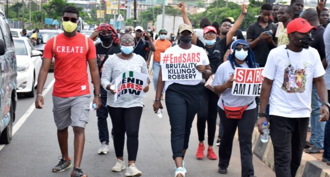 FG accepts 5-point demand of #EndSARS protesters