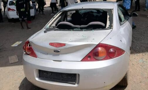 Armed thugs attack Abuja #EndSARS protesters, destroy cars