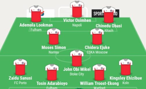 Osimhen, Troost-Ekong, Mikel… TheCable's team of the week
