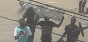 'Thugs' overrun Lagos court, cart away files
