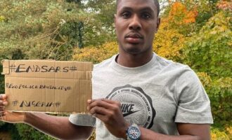 'You're killers… a shame to the world' – Ighalo slams FG over shooting of #EndSARS protesters