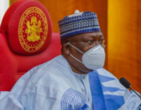 Lawan: Buhari wrongly advised to reject n'assembly bills