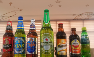 Nigerian Breweries slows down on the downside