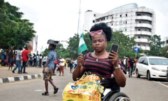 PHOTOS: How persons with disability defied the odds to protest against police brutality