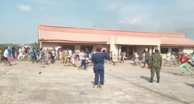 'Many killed' as security operatives attack residents looting COVID-19 palliative store in Kwara