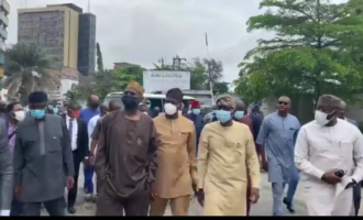 South-west governors inspect damaged infrastructure in Lagos
