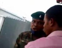 TRENDING VIDEO: 'He brought out his belt and beat me' — lady recounts assault by soldier