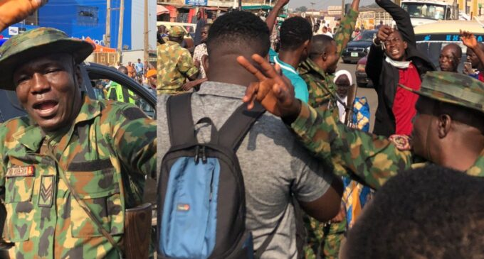 'Remain in your barracks' — CSOs kick over army's threat to protesters