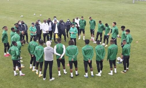 Super Eagles end 2020 at 35th in FIFA ranking