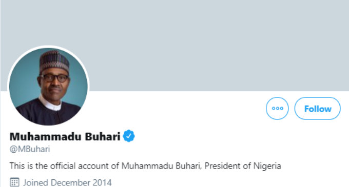 #ENDSARS Protest: About 100,000 people unfollow Buhari on Twitter — in 24 hours