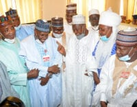 PHOTOS: Lawan, Mustapha, Ganduje attend Goje's wedding