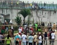 Jailbreak: 1,993 inmates 'escaped from Edo prisons'