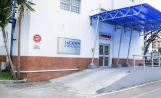 Protesters set fire to Lagoon Hospital's entrance over man's death