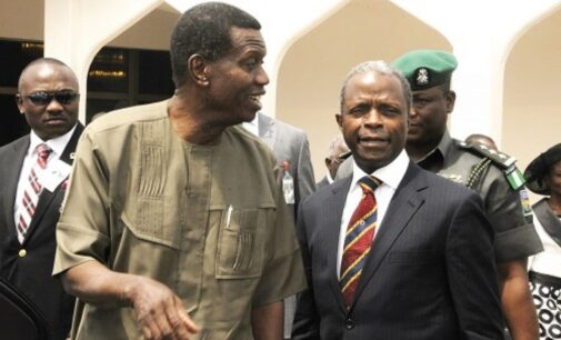 Garba Shehu's 'attack' on Adeboye was to rebuke Osinbajo