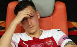 'Loyalty is hard to come by' —  Ozil breaks silence on exclusion from Arsenal's EPL squad