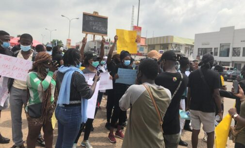 REPORTER'S DIARY: How I escaped being shot by an angry soldier during #EndSARS protest