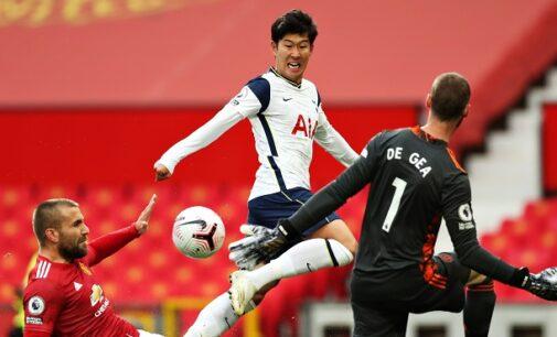 EPL results: Tottenham thrash Man United 6-1 at Old Trafford
