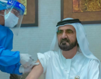 Al-Maktoum, UAE prime minister, receives COVID-19 vaccine developed by Chinese firm