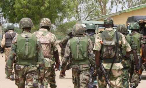 Troops foil ISWAP's attempt to loot food items in Borno town