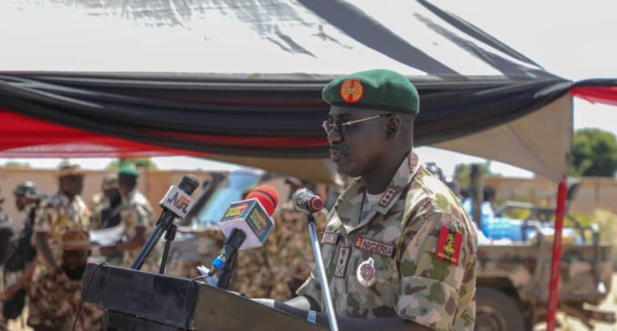 Be ready to move to Sambisa, Buratai tells recruits