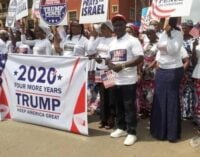 'A great honour' — Trump thanks those who marched for him in Onitsha