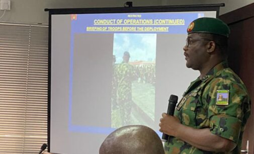 Lekki shooting: No allegation against us at judicial panel, says army