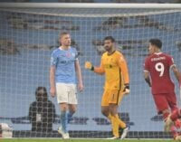 EPL results: De Bruyne misses penalty as Man City, Liverpool share points